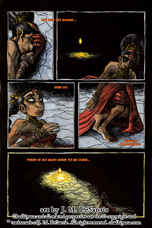 The Call of Fire page 2