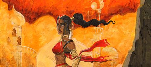 Goddess of Sand banner