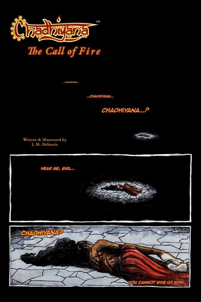 The Call of Fire – page 1