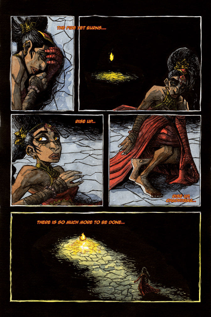 The Call of Fire – page 2