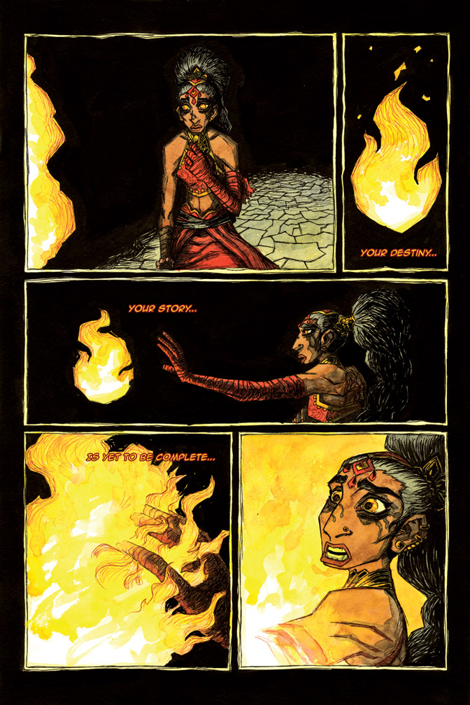 The Call of Fire – page 3